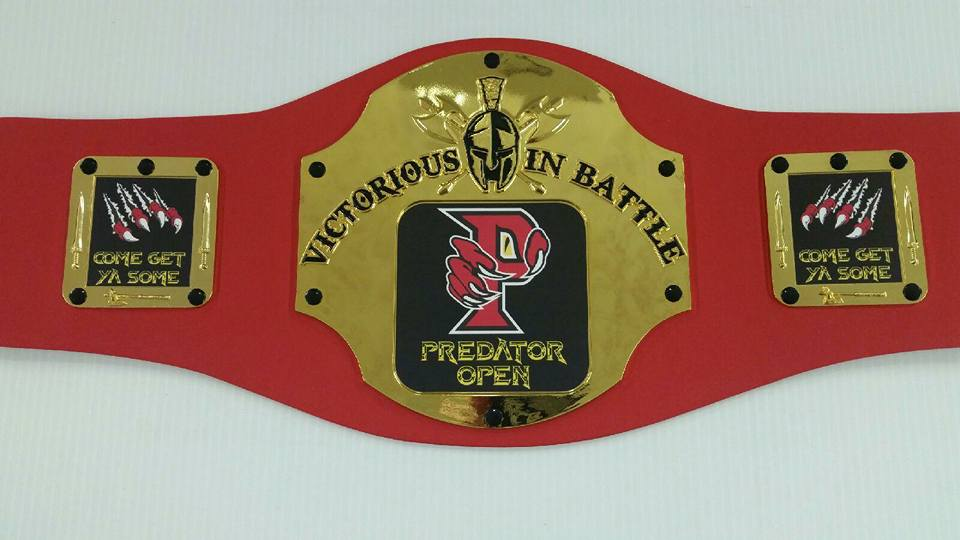 Predator Open Championship Belt