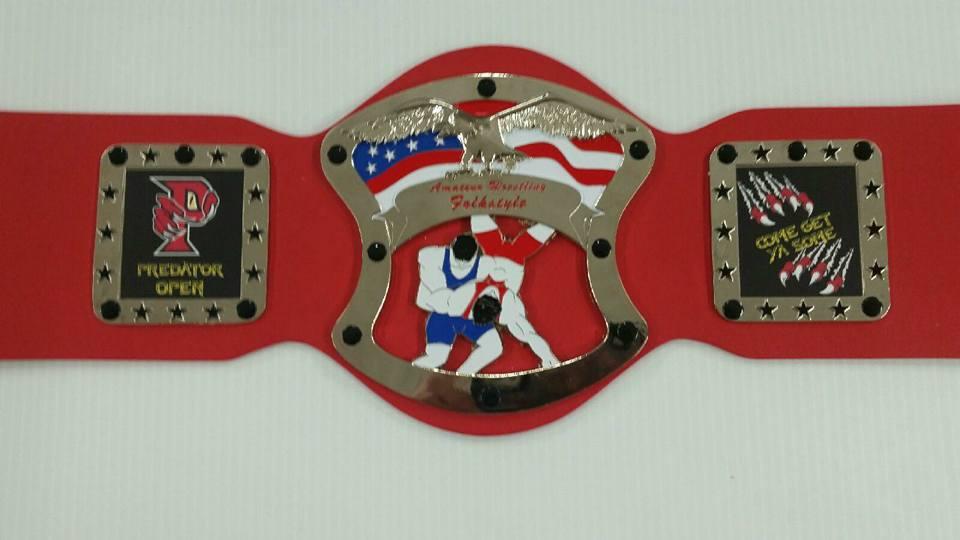 Predator Open Tot Championship Belt